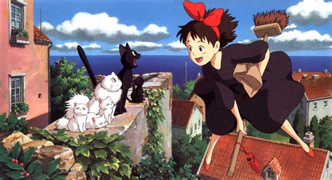 ghibli cat film 15 kiki s delivery service hd wallpapers backgrounds