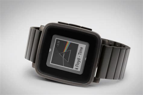 Smartwatch Pebble Time pebble 10 jours d autonomie pour la time steel meilleur mobile