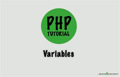 tutorial php variables php tutorial for beginners and advanced developers variables
