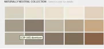 Neutral earth tone paint colors