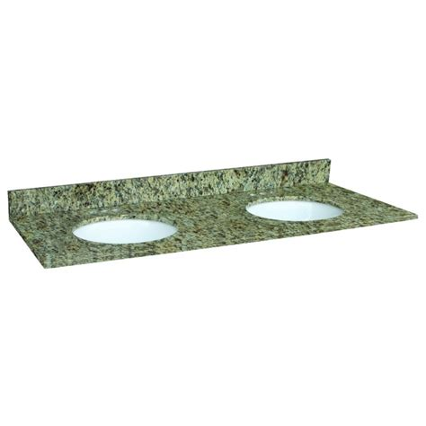 design house vanity top design house 553073 venetian gold granite 61x22