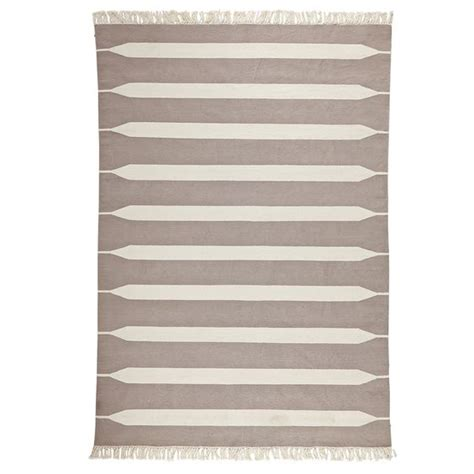 bark paddle stripe cotton dhurrie serena taupe