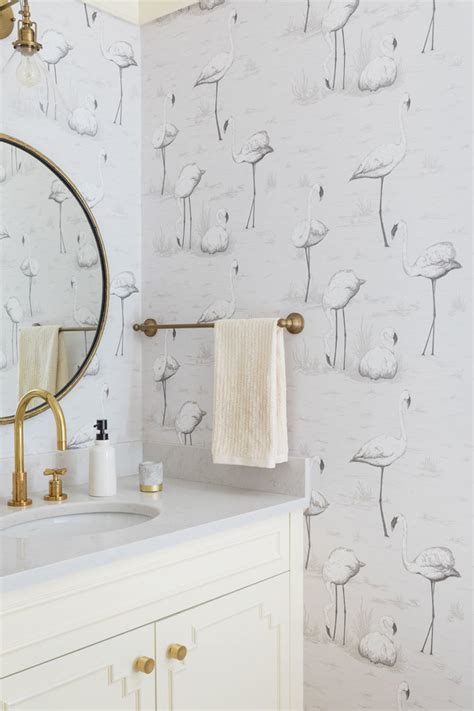bathroom wallpaper paste 17 times that wallpaper in a bathroom stole the show
