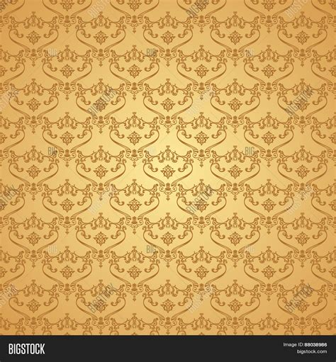 brown royal pattern seamless vintage background image photo bigstock