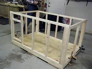 Cheap Flat Bench Insulated Dog House By Mijohnst Lumberjocks Com