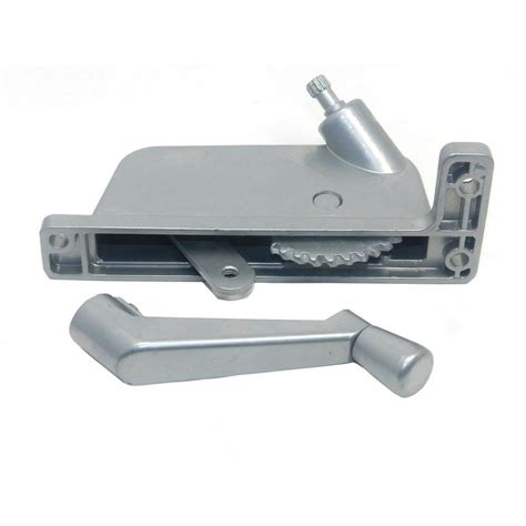 awning window security barton kramer 2 5 16 in silver right hand awning window operator for security window