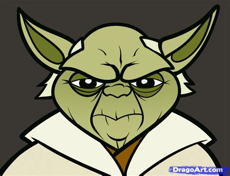 Drawing Yoda by How To Draw Yoda Easy Step By Step Wars Characters