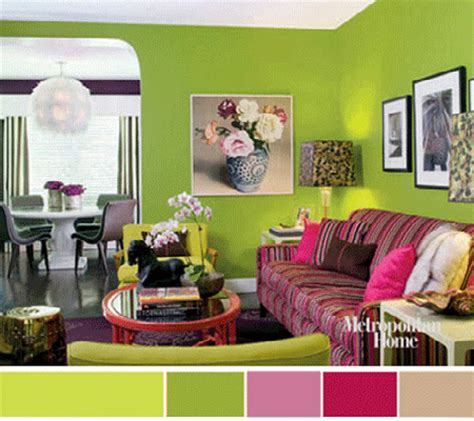 green and purple living room wall colors dining room elle decor green wall