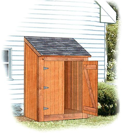 lean  shed design shed plans kits