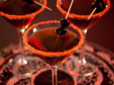 martini halloween black devil martini recipe hgtv