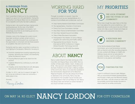 Election Brochure Template by Election Brochure