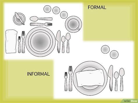 posate sul tavolo come disporre le posate sul tavolo 7 passaggi