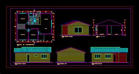 cabin  vacation  floor plans  dwg design