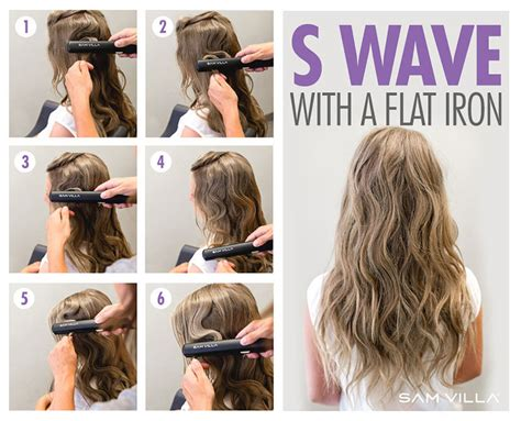 how to use straightner to get beach waves of shoulder length hair how to curl your hair 6 different ways to do it bangstyle