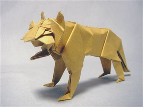 Advanced Origami Tiger - tiger