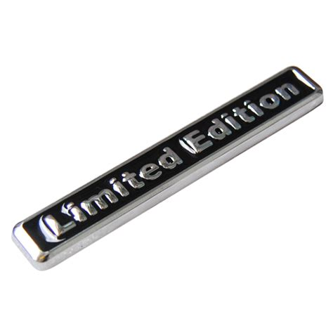 Emblem Limited Edition Kecil 3d Metal Chrome limited badge reviews shopping limited badge reviews on aliexpress alibaba