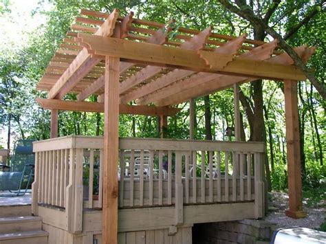 46 best pergola kits images on cedar pergola