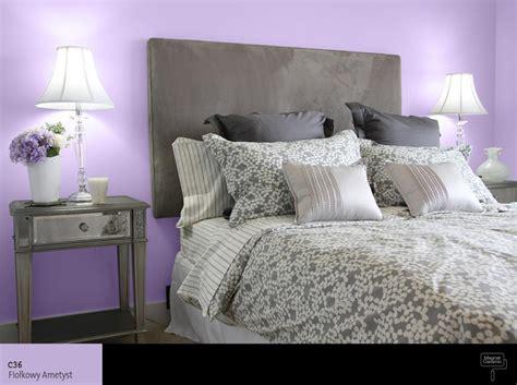 magia fioletu oryginalne kolory farb do sypialni