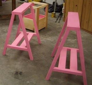 ana white simple sawhorse table diy projects