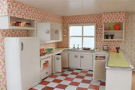 dollhouse kitchen cabinets a vintage custom kitchen for the betsy mccall dollhouse