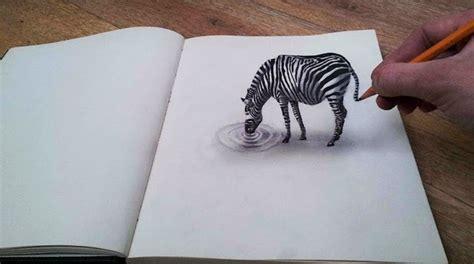 imagenes para dibujar a lapiz en 3d faciles alucinantes dibujos en 3d sobre hojas planas de papel