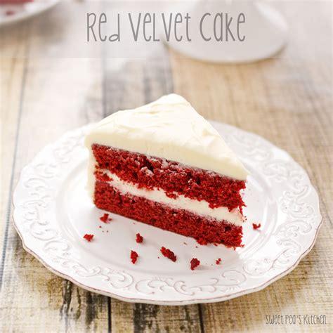 red velvet red velvet cake with fluffy white frosting recipe dishmaps