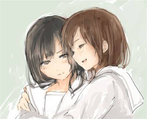 Anime Hug by Pin Anime Friends Hugging Images To