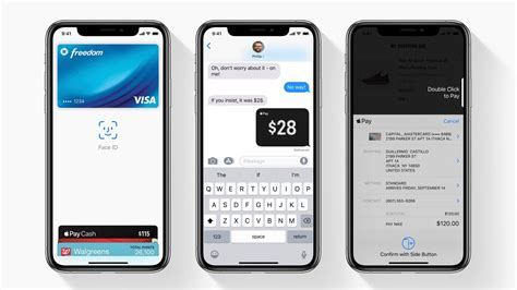quickly access apple pay  iphone  xs  xr