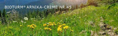 Shoo Nr Arnika bioturm naturkosmetik arnika creme nr 45