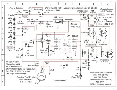 4 prong switch wiring diagram for treadmill