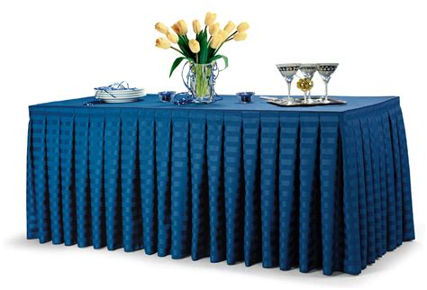 29 quot 30 quot height box pleated table skirting ritewaylinens