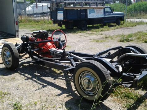 Cadillac On Corvette Chassis by Corvette Chassis Frame 1958 1959 1960 1961 For Sale In