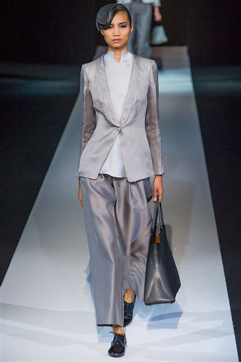 Catwalk To Carpet In Giorgio Armani giorgio armani summer 2013 searching for style