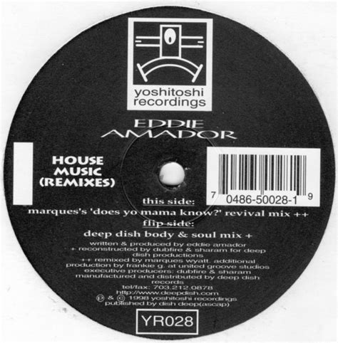 eddie amador house music eddie amador house music remixes 2 215 12 jiggyjamz vinyl records and cds