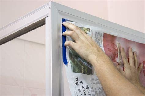 Painting Shower Door Frame How To Paint A Shower Door Frame Hunker