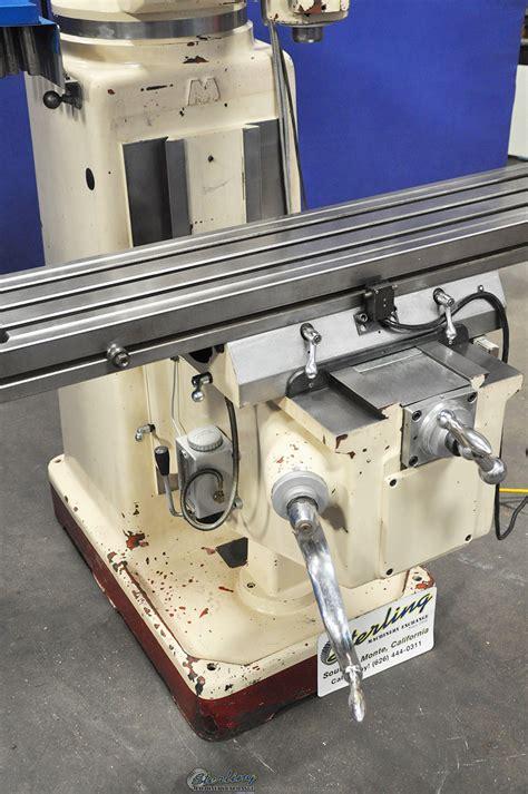 chevalier vertical milling machine sterling machinery