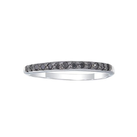 1 4 ct black ring sterling silver lifestyle updated