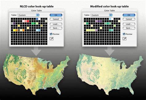 indexed color hal shelton revisited national land cover dataset
