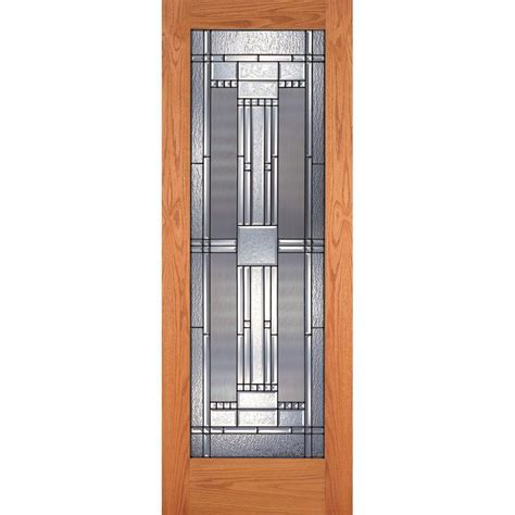 oak interior doors home depot steves sons 32 in x 80 in 3 panel mission unfinished