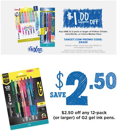 Pen Coupons Printable new pilot pens printable coupons