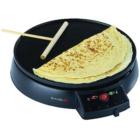 Kitchen Living Crepe Maker Breville Traditional Crepe Maker Vtp130 Black Iwoot