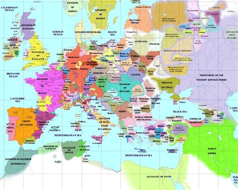 of map european history maps