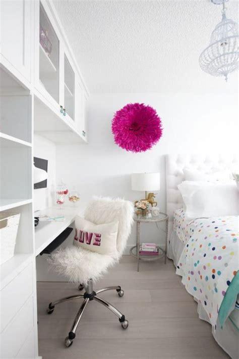 habitaciones juveniles blancas decoracion infantil