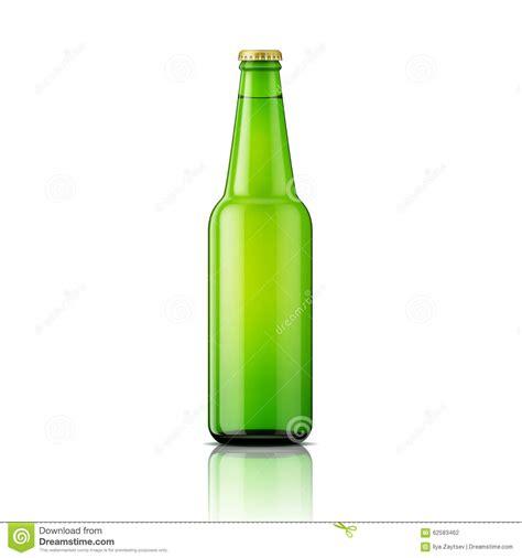 green beer bottle template stock vector image 62583462