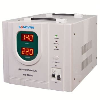Ac Automatic Voltage Regulator 10kw voltage stabilizer regulator with led display