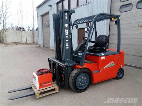 Used Heli Cpd 35 Electric Forklift Trucks Year 2019 For