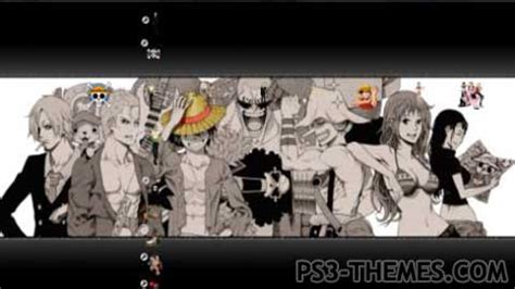 psp themes anime one piece ps3 themes 187 one piece unofficial