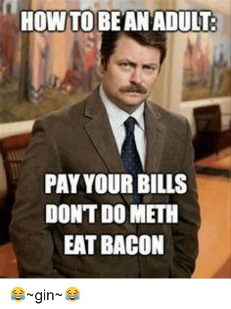Paying Bills Meme - funny bacon memes of 2016 on sizzle cats