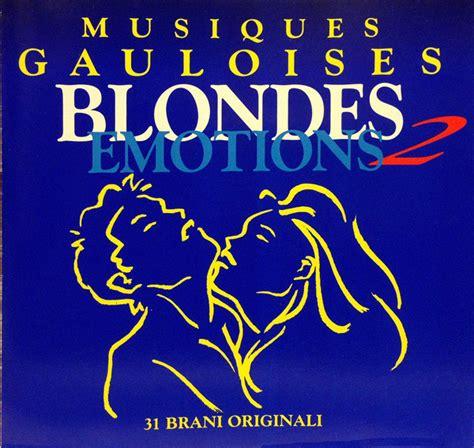 format cd sini gösterme various musiques gauloises blondes emotions 2 cd at