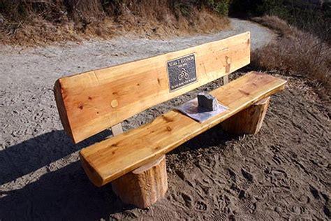 split log bench the story behind the mark j reynolds landmark mountain